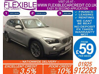2013 BMW X1 2.0 TD XDRIVE20D X-LINE GOOD / BAD CREDIT CAR FINANCE AVAILABLE