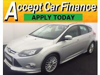 Ford Focus 1.6 SCTi ( 182ps ) 2014MY Zetec S FROM £46 PER WEEK!