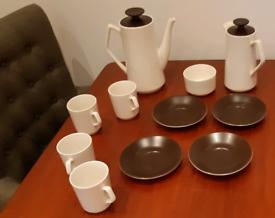 1960s Vintage Beswick Coffee Set.