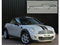 2013 MINI 1.6 Cooper Coupe ( Chili Pack ) ' White Silver '