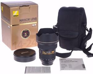 Nikon Objectif AF-S 14-24mm G N f2.8 Nikkor