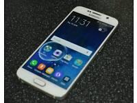 Samsung Galaxy s6 32gb white locked to o2