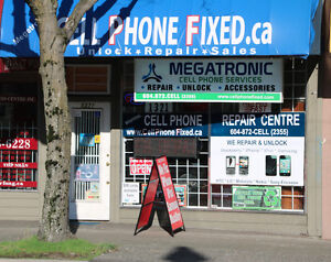 Number ONE Professional Cell Phone Repair in Vancouver