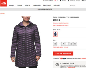 Manteau North Face Thermoball II Parka Femme SMALL