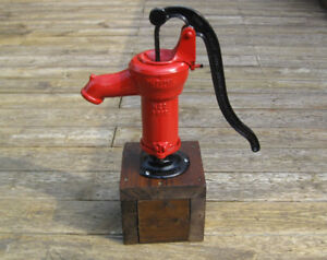 Beatty Bros Antique hand water pump