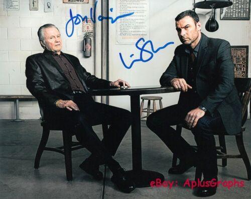 RAY DONOVAN.. Liev Schreiber with Jon Voight - SIGNED