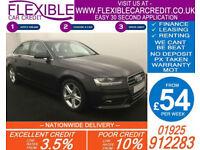 2014 AUDI A4 2.0 TDIE SE TECHNIK GOOD / BAD CREDIT CAR FINANCE AVAILABLE
