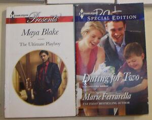 Harlequin Paperback Books. Two books for $1.00