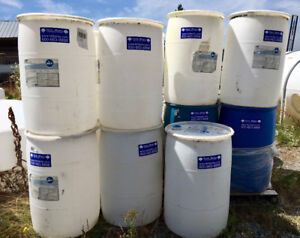55 Gallon drums for Rainwater collection