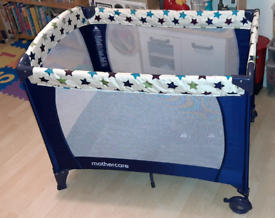 NEW - Mothercare Classic Travel Cot - Starlight