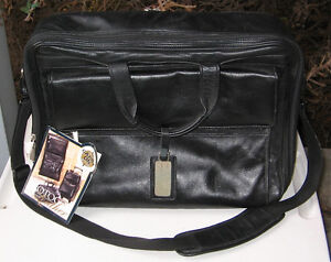 PROTOCOL EXECUTIVE LEATHER COMPUTER ORGANIZER BAG