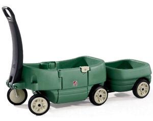 FS: Step 2 - Children Wagon For 2 Child PLUS Tag Along Trailer