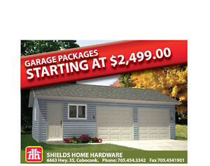 Garage Packages - We Can Design and Supply