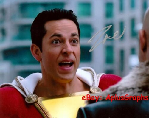 ZACHARY LEVI.. Superhero: Shazam! - SIGNED