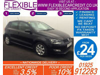 2011 VW POLO 1.2 TDI MATCH GOOD / BAD CREDIT CAR FINANCE FROM 24 P/WK