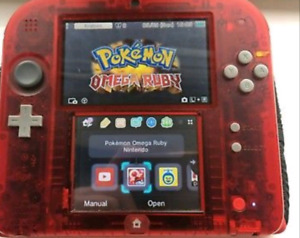 Crystal red 2ds and Omega Ruby