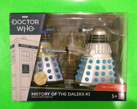 Doctor Who - History Of The Daleks #3 / Collectable Dr Who Figure Set