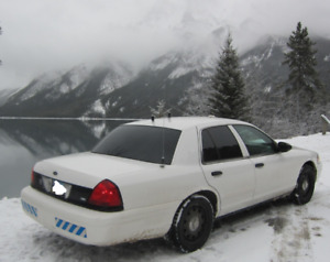 2011 Police Interceptor Ford Crown Victoria only 130000kms