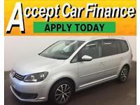 Volkswagen Touran 1.6TDI ( 105ps ) 2012MY SEFROM £43 PER WEEK