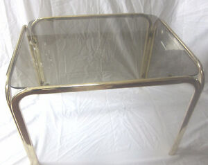 Mid Century Modern Hollywood Regency Coffee Table or End Table
