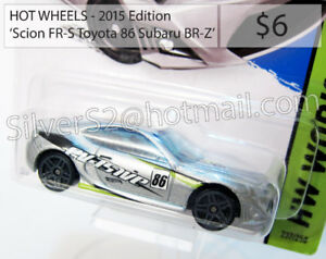 HOT WHEELS 'Scion FR-S Toyota 86 Subaru BR-Z (Silver 'Evasive')