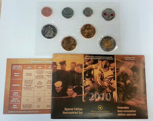 2010 Special Edition RCM Proof-Like uncirculated set.