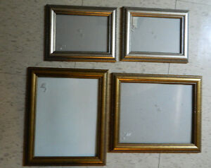 4 Picture Frames 8x10 and 5x7