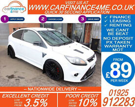 2009 FORD FOCUS RS 2.5 GOOD / BAD CREDIT CAR FINANCE AVAILABLE