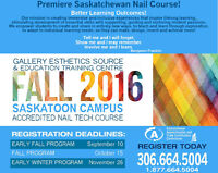 Fall into a New Career! Accredited NailTech Course Starts Sep 11