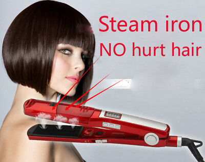 Hair Straightener Steam Comb Straightening Hair Irons Straight Hair Brush Tools