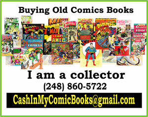 CASH for OLD Toys, Collectibles, Comics