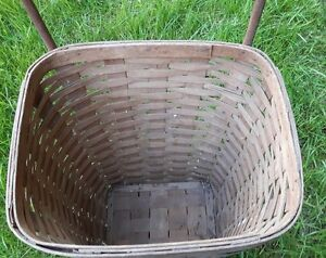 Antique rolling basket shopping cart London Ontario image 4