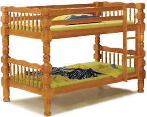 bunk beds, twin, solid wood