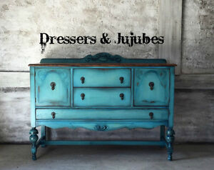 Gorgeous refinished antique buffet