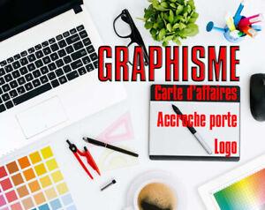Carte d'affaires, Logo, Infographie, graphiste, site web