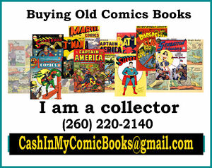 Old Comic Books Wanted