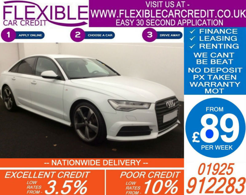 2015 AUDI A6 2.0 TDI ULTRA BLACK EDITION GOOD / BAD CREDIT CAR FINANCE AVAILABLE
