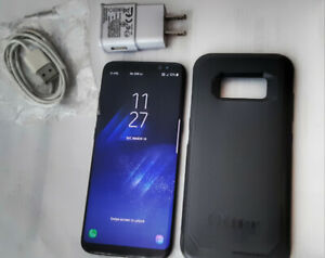 Samsung Galaxy S8 with Otterbox Case