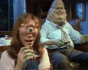 Rare ENGLISH Comedy Complete TV Series of : The MONSTERS (1988)