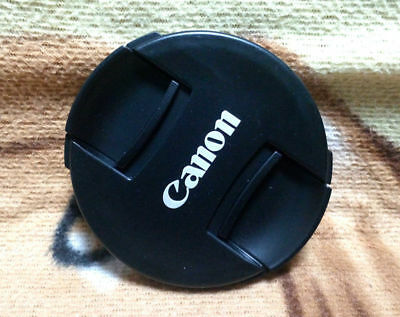NEW Generation Canon Snap On Front Lens Cap ABS Dust-proof Lens Cover 77mm