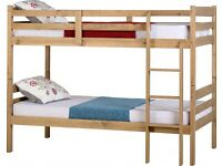 Solid Wood Bunk Beds Pine 3ft Single Bunk Bed Frames BRANDNEW Flat Packed Delivery 7 Days a week