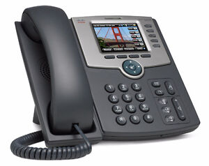 Cisco SPA525G2 5 line VoIP phone with Bluetooth and WiFi