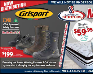 CSA Safety Foot Wear