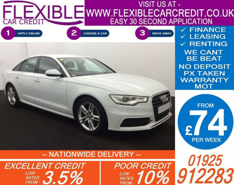 2014 AUDI A6 SALOON 2.0 TDI S-LINE GOOD / BAD CREDIT CAR FINANCE AVAILABLE