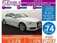 2014 AUDI A6 SALOON 2.0 TDI S-LINE GOOD / BAD CREDIT CAR FINANCE AVAILABLE