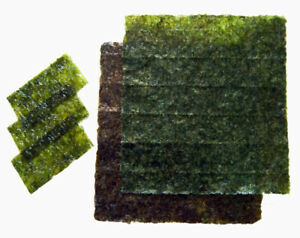 SeaVeggies Seaweed (Nori) green, red or Purple 30 g  packs