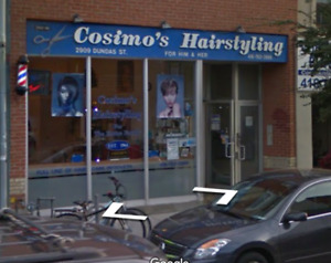 Barber / hairstylist wanted in the junction area of Toronto