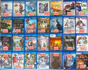 PS Vita Games • Used —[PRICE IN PICTURE • PICK UP ONLY]