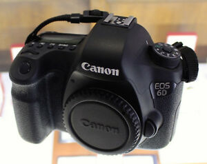 CANON EOS 6D DIGITAL CAMERA (BODY ONLY)