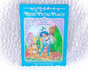 1984 Rose Petal Palace Book Lily Fair Learns A Lesson Book